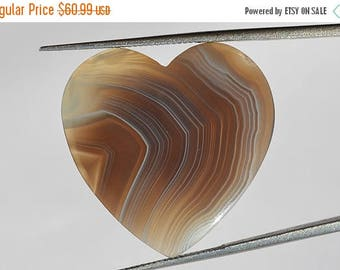 On Sale 14.5 Cts Natural Botswana Agate Gemstone, Designer Botswana Agate Cabochon, Natural Agate Loose Cabochon, 24x24x3 MM R05394