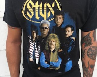 Vintage Styx 1991 tour shirt