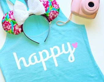 Happy - Great for Disneyland or Walt Disney World Vacation!