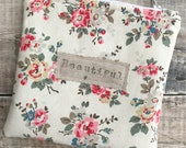 Cath kidston pouch, Cosmetic purse, Notions pouch, Kindle case, Zip bag, Toiletry bag, Knitting notions, Sewing notion storage, Make up bag