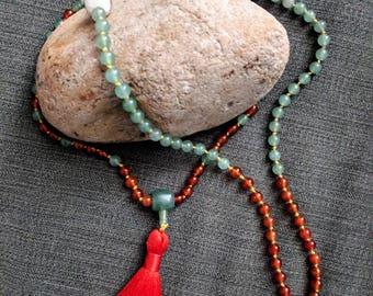 Sacral Chakra Bold Creativity Mala
