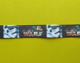 7/8 22 mm Star Wars Inspired Grosgrain Ribbon