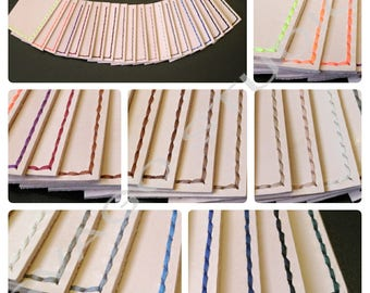 Sewing Threads for Leather Craft, shoes making, book binding...etc.  Flat Waxed Polyester braid thread for hand stitching.