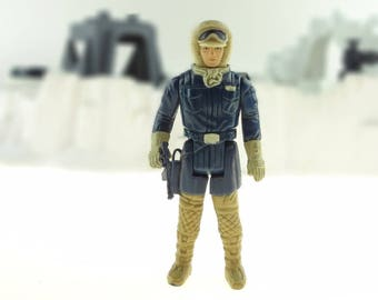 Han Solo In Hoth Outfit Vintage Action Figure 1983 The Empire Strikes Back