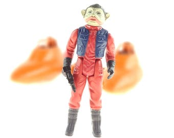 Nien Nunb Vintage Star Wars Action Figure 1983 Kenner