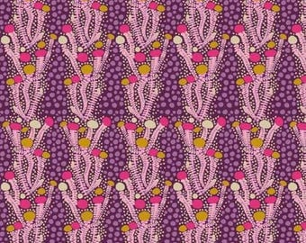 Sweet Dreams- Ladder- Eggplant- Anna Maria Horner- Free Spirit/Westminster Fabrics