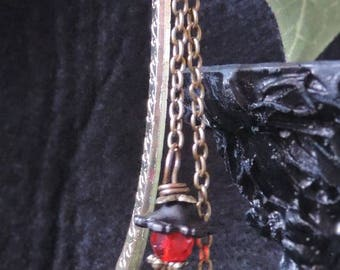 "Bookmark ""Red and Black"" - Victorian"