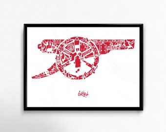 """The Arsenal """"Cannon"""" - Legends by Cwtkw"""
