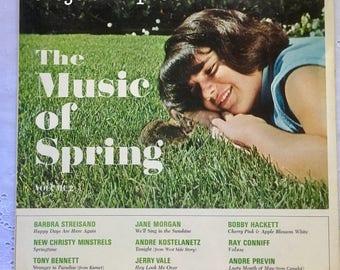 Rare! Sealed! Columbia Special for Scotts, The Music Of Spring Vol 2 Vinyl LP #BarbaraStreisand #TonyBennett