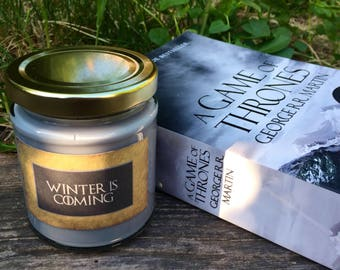 Game of thrones inspired candle