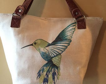 Hummingbird Purse