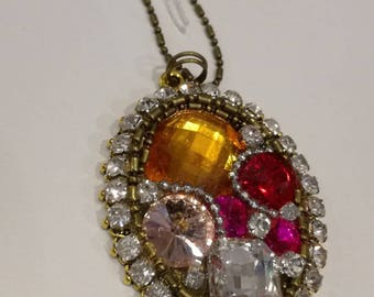 """Special sparkly party necklace """"Fairyland"""""""