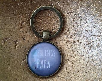 Favorite dad keychain
