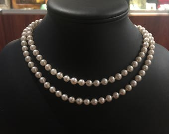 An Opera Length (86cm) South Sea Pearl Necklace