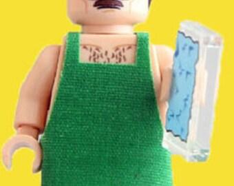 Walter White Breaking Bad AMC Custom Minifigure v2 100% Lego Compatible!