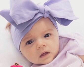 Lavender Headwrap, Baby Head Wrap,  Fabric Head Wrap, Newborn Head Wraps, Toddler Headwraps, Head Wrap, Turban Headwraps