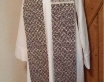 Book of Kells Antique Blue Clergy Stole
