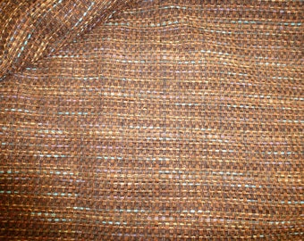 NO. 43-WEAVING TAPESTRY - BLUE PURPLE BROWN