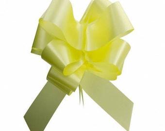 Bow decoration wedding, christening (approx 20 cm)