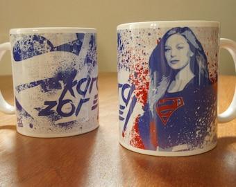 """Mug / Tasse """"Kara ZOR-EL"""" - Supergirl / Kara Zor-El / Kara Danvers / Melissa Benoist"""