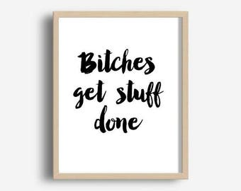 Quotes About Bitches Best Tina Fey Quotes  Etsy