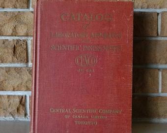 1942 Catalog of Laboratory Apparatus and Scientific Instruments / CENCO / Catalog JC-141 / Toronto