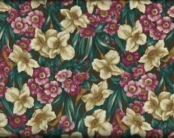 Northcott Quilting Cotton Fabric Green 126363 - 1/2 Yard