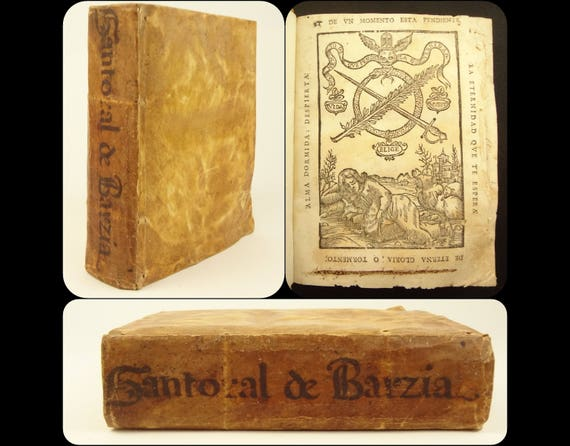 1699 Sermons of Saints, with an introduction by Joseph de Barzia (in Spanish)