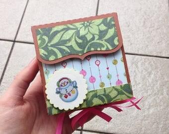 Custom mini magnetic album