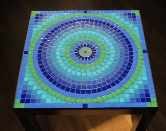 Glass Mosaic Table