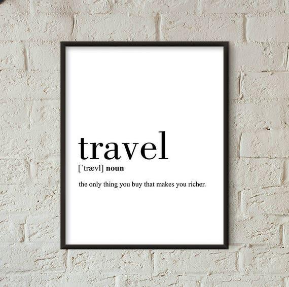 Travel definition print definition travel printable travel for Decor definition