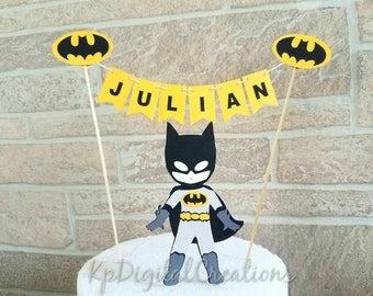 Batman cake topper, Superhero birthday party, Superhero cake topper, Avengers birthday, batman birthday, batman party, Batman baby shower