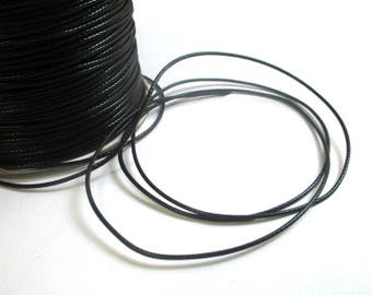 5 m thread cord waxed polyester 1 mm
