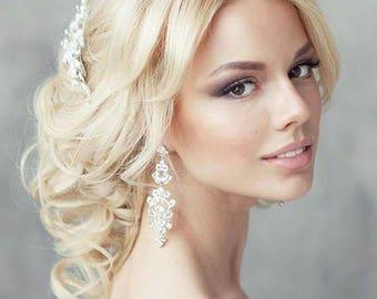 Bridal pearl comb, white pearl  hair comb, wedding ivory comb, pearl comb, bridal comb, bridal hair accessory