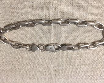 Sterling solid silver bracelet made in ukraine