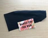 Black - GET A GRIP™ Collection   Non-Slip Headband   Yoga Headband   Fitness Headband   Running Headband   Pilates   Barre Headband  
