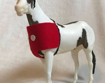 "1:9 Scale ""Mickey Mouse"" Breyer Model Horse Halloween Costume"