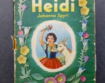 Heidi by Johanna Spyri - Peveril Books 1957