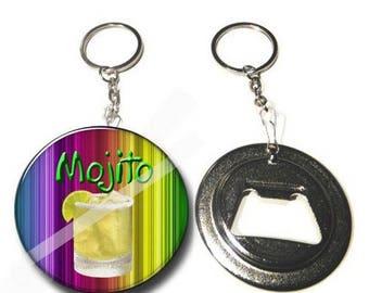 Keychain bottle opener / mojito gift