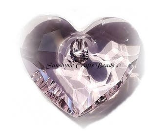 Swarovski ROSALINE 6264 18mm Truly in Love Heart Pendant 1 Pc - Swarovski Crystal Elements Beads