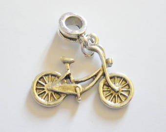 1 bicycle pendant charm