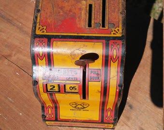 Vintage Marx Tin Toy Bank
