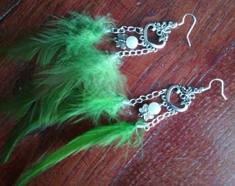 Earrings feathers ROSTER