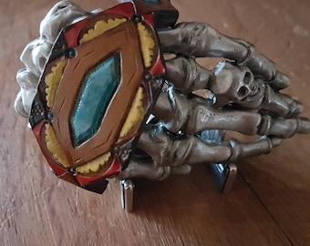 Leather bracelet, own design