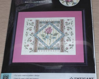 "Sealed Artiste #1088608 ROSE COLLAGE Counted Cross Stitch Kit 14"" x 11"""