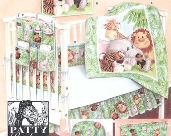 """Simplicity 3954  """"Nursery Accessories"""" Sewing Pattern by Patty Reed Designs"""
