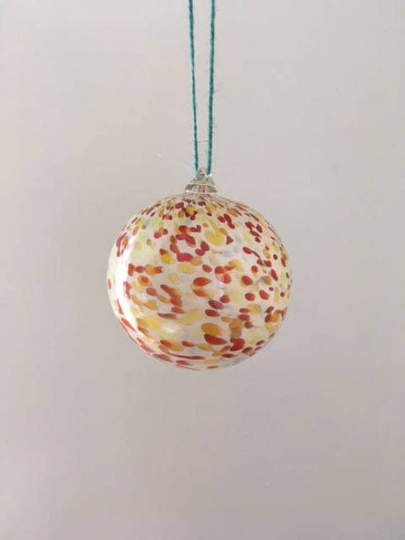 House-mix speckled ornament