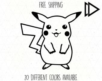Pokemon Pikachu Decal