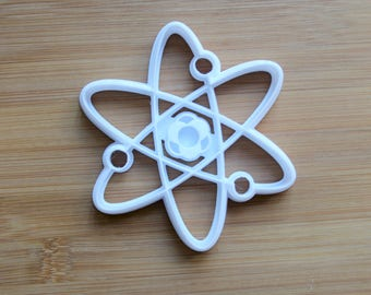 Atom Science 3D Printed Cookie Cutter