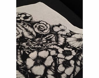 Overgrown | Tea towel | screen printed | interiors | kitchen